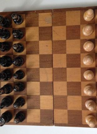 Шахматы, шахматы довоенные, старинные, деревянные, шахи