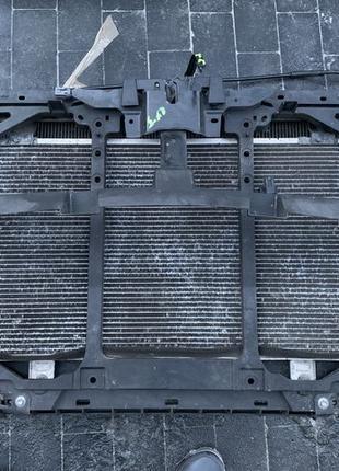 Панель передняя радиаторов телевизор Mazda CX-5 Мазда СХ 5 2014