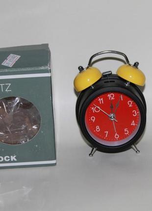 Часы будильник металл