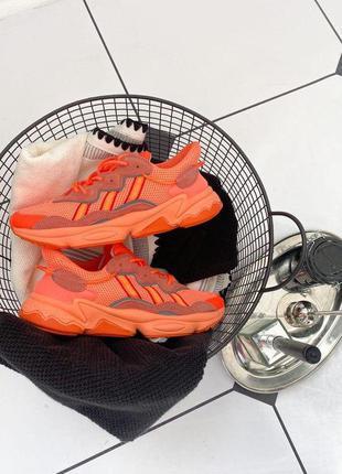 Кроссовки adidas ozweego orange