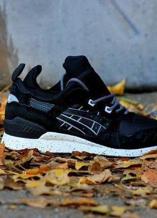 Кроссовки asics gel lyte mt black white