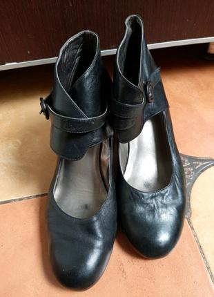 Кожаные туфли ботильоны Choizz 27 см