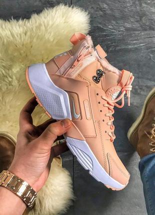Nike air huarache mid pink
