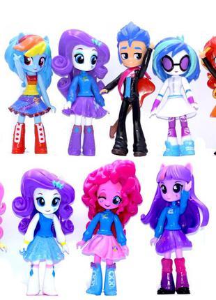 Набор 9в1 куклы Мой маленький (литл пони) Девочки, Эквестрия, ...
