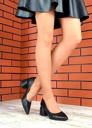 Натуральная кожа люксовые туфли лодочки с острым носком на мал...