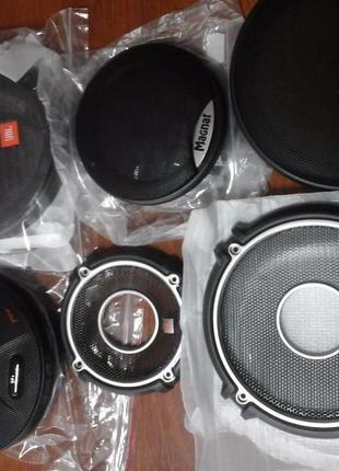 Сетки автомобильных динамиков новые Kicx Hertz JBL Magnat FLІ