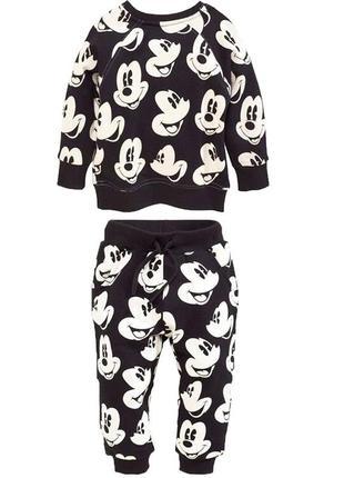 🌿 пижамный комплект george с mickey mouse