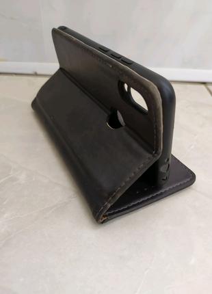 Кожаный чехол для Xiaomi Redmi Note 7