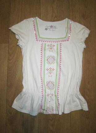 Вышиванка, футболка, блуза на 8-9 лет