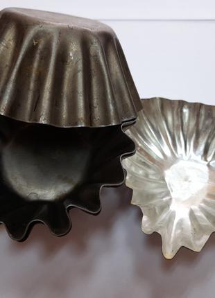Формы металлические для кексов