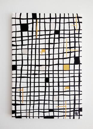 Картина, картина интерьерная «геометрія долі»