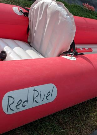 Надувная двухместная байдарка Red River 490