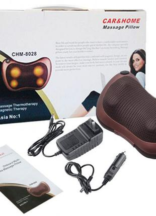 Массажная подушка для шеи и тела iTrendy с подогревом