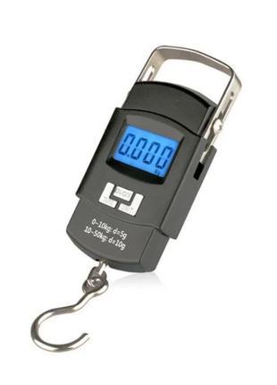 Весы электронные (безмен кантер) до 50кг (5г) с батарейками в ...