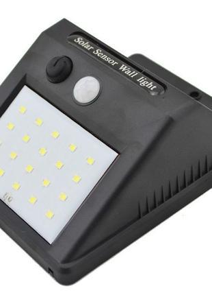 Уличный фонарь с датчиком движения на солнечной батарее 609-30...