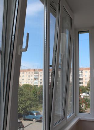 Металлопластиковые окна, двери, роллеты, жалюзи, балконы под ключ