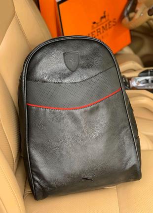 Рюкзак Puma Ferrari ( кожа )