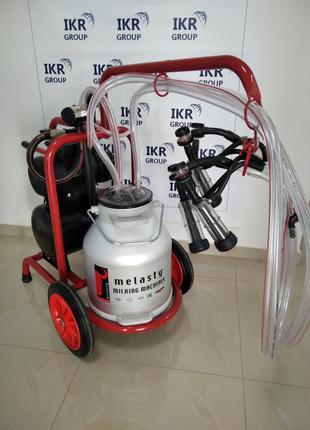 Доїльний апарат для двох кіз Melasty