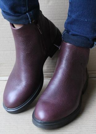Ботинки ecco zoe 243213  оригінал натуральна кожа