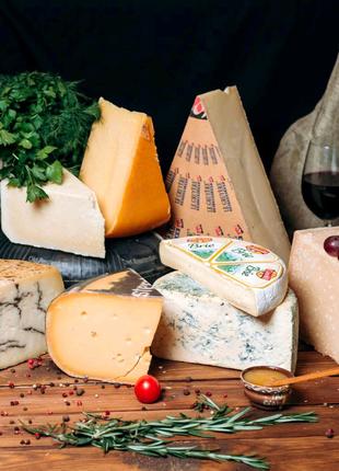 Сыр из Италии и других стран Европы