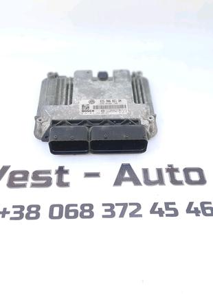 Блок управління двигунок 1,9 BLS 03G906021DN Scoda octavia A5 b6