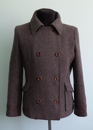 Пальто полупальто от mexx шерсть