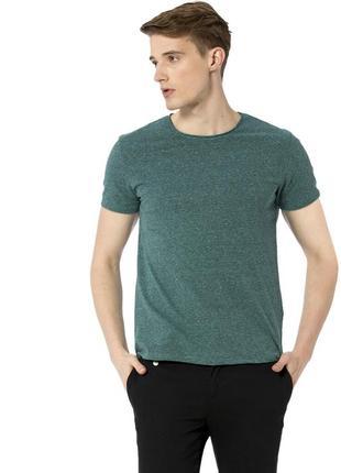Мужская футболка зеленая lc waikiki / лс вайкики