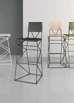 Дизайнерский стильный барный стул ЛОФТ от производителя