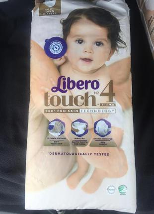 Подгузники Libero Touch 4 7-11 кг 48 шт