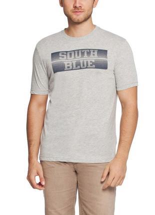 Мужская футболка lc waikiki светло-серого цвета с надписью sou...