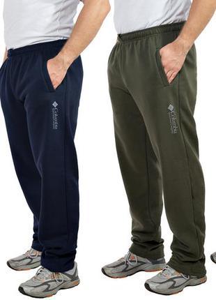Мужские теплые трикотажные штаны с начесом colorado (585)