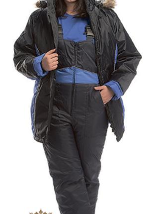 Полукомбинезон «Карелия»утепленный строителю рабочему водителю СТ