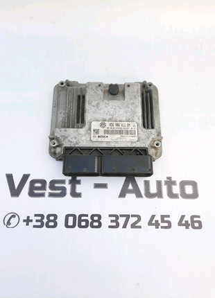 03G906021QM блок управління двигуном Skoda octavia A5 B6  Superb