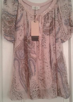 Блуза cartoon шелк