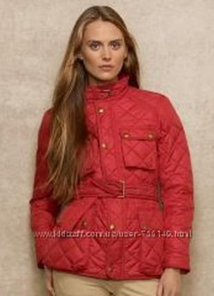 Куртка стеганная красная ralph lauren