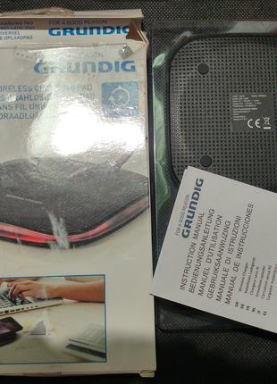 Беспроводная зарядка GRUNDIG MP-132B iPhone 8 X Galaxy S8 HTC