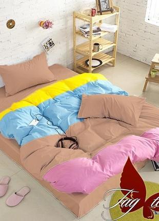 Двуспальный комплект постельного белья, 100% хлопок
