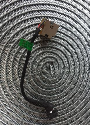 Разъем гнездо питания для ноутбука HP Pavilion G6-2000 G7-2000 Dm