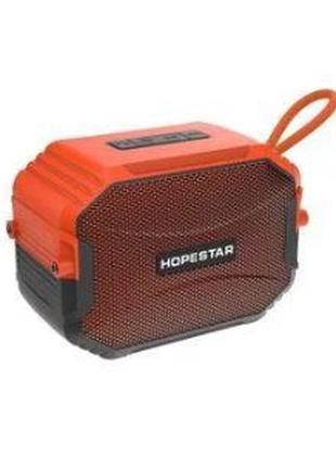 Портативная Bluetooth колонка Hopestar T8 IPX6 (Оранжевый)