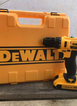 Аккумуляторный шуруповерт DeWALT DCD791+ набор