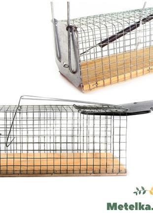 Крысоловка-клетка (живоловка), 2 штуки