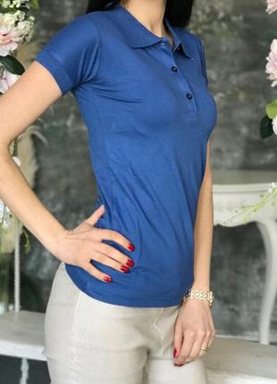 Женская стильная футболка поло