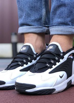 Стильные и удобные Nike Zoom 2K (белые с чёрным)