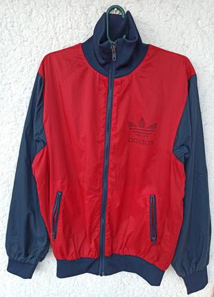 Ветровка бомбер adidas vintage куртка адидас винтаж
