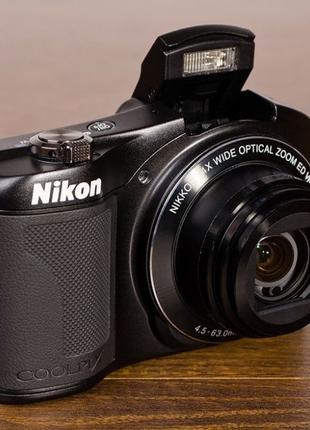 Фотоаппарат Nikon Coolpix L610 Black б/у отличное состояние