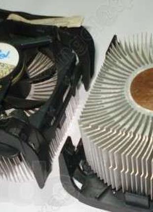 Кулер (вентилятор) для процессора + процессор Intel / AMD