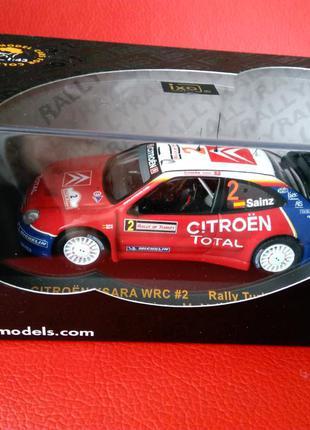 CITROEN XSARA WRC #2 Rally Turkey 2005 C.Sainz - M.Marti 1:43 IXO