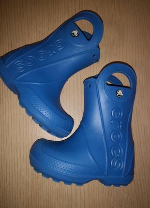 Сапоги crocs c8