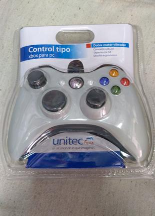 Джойстик геймпад проводной USB для компьютера XBOX U360