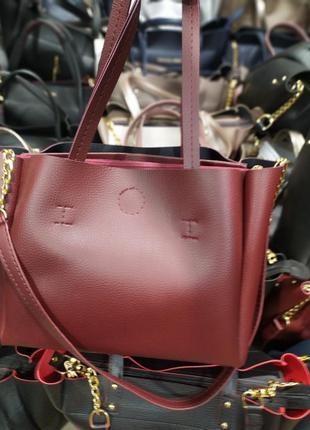Женская сумка на три отделения, распродажа